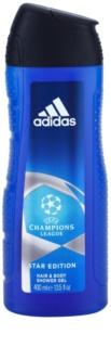 Adidas Champions League Star Edition sprchový gél pre mužov 400 ml