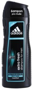 Adidas Extra Fresh освежаващ шампоан за мазна коса