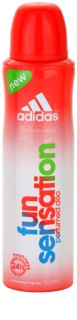 Adidas Fun Sensation Deo-Spray für Damen 150 ml