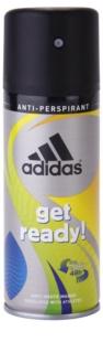 Adidas Get Ready! Deo Spray for Men 150 ml