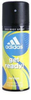 Adidas Get Ready! Αποσμητικό σε σπρέι για άνδρες 150 μλ