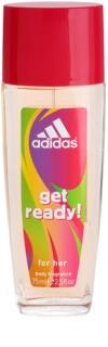Adidas Get Ready! Deo met verstuiver voor Vrouwen  75 ml