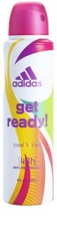 Adidas Get Ready! Cool & Care Deo-Spray für Damen 150 ml