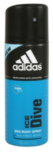 Adidas Ice Dive Deo-Spray für Herren 24 h 150 ml