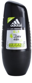 Adidas 6 in 1 Cool & Dry deo-roll-on za moške 50 ml
