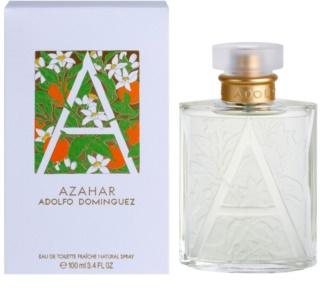 Adolfo Dominguez Azahar Eau de Toilette for Women 100 ml