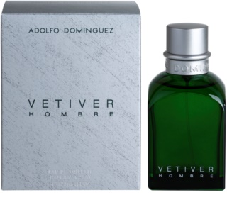 Adolfo Dominguez Vetiver Hombre Eau de Toilette para homens 120 ml