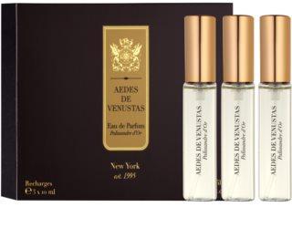 Aedes De Venustas Palissandre d'Or Eau de Parfum Unisex 3 x 10 ml Navulling