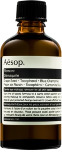 Aēsop Skin Eye Make-up Remover  óleo calmante para desmaquilhar o contorno dos olhos