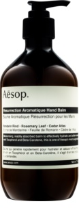Aésop Body Resurrection Aromatique balsam profund hidratant de maini