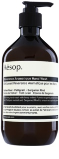 Aēsop Body Reverence Aromatique savon liquide exfoliant mains