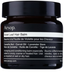 Aésop Hair Violet Leaf formázó balzsam a rakoncátlan és töredezett hajra