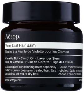 Aēsop Hair Violet Leaf bálsamo remodelador para cabello encrespado y rebelde