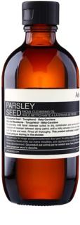 Aēsop Skin Parsley Seed óleo de limpeza suave para pele seca a sensível