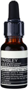 Aésop Skin Parsley Seed ser antioxidant zona ochilor