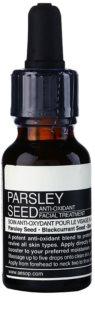 Aēsop Skin Parsley Seed sérum antioxidante para todos os tipos de pele