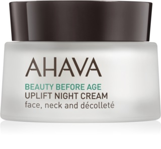 Ahava Beauty Before Age noćna lifting krema za lice, vrat i dekolte
