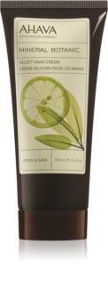 Ahava Mineral Botanic Lemon & Sage jemný krém na ruce