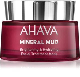 Ahava Mineral Mud rozjasňujúca pleťová maska s hydratačným účinkom
