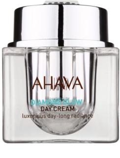 Ahava Diamond Glow luxuriöse Tagescreme mit reinem Diamantstaub für klare und glatte Haut