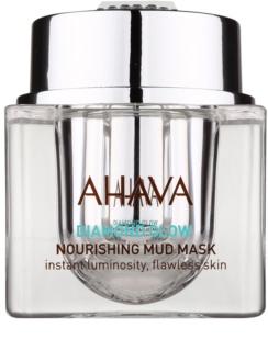 Ahava Diamont Glow nährende Maske mit Schlamm aus dem Toten Meer und mit reinigendem Diamantstaub
