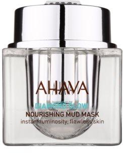 Ahava Diamond Glow nährende Maske mit Schlamm aus dem Toten Meer und mit reinigendem Diamantstaub