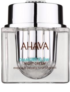 Ahava Diamont Glow luxuriöse Nachtcreme mit reinem Diamantstaub gegen Hautalterung