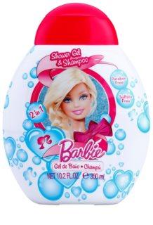 Air Val Barbie sprchový gel pro děti 300 ml