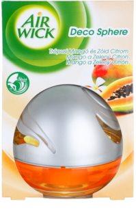 Air Wick Deco Sphere aróma difuzér s náplňou 75 ml  Mango and Lime