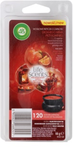 Air Wick Life Scents Mulled Wine by the Fire Yankee Candle Wax  66 gr