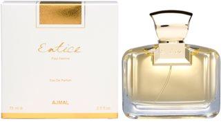 Ajmal Entice Pour Femme Eau de Parfum para mulheres 75 ml