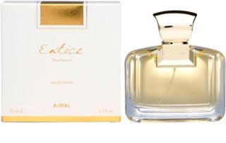 Ajmal Entice Pour Femme eau de parfum para mujer 75 ml