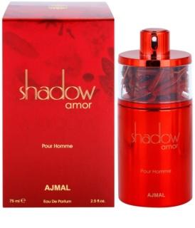 Ajmal Shadow Amor for Him Eau de Parfum para homens 75 ml