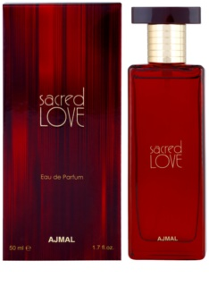 Ajmal Sacred Love Eau de Parfum para mulheres 50 ml
