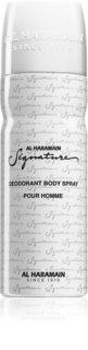 Al Haramain Signature deodorant spray para homens