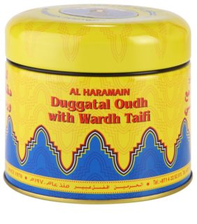 Al Haramain Duggatal Oudh with Wardh Taifi incienso 50 g