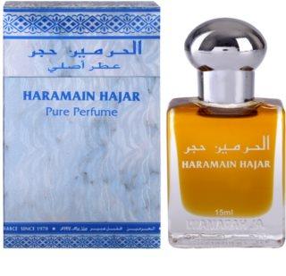 Al Haramain Haramain Hajar parfümiertes Öl unisex 15 ml