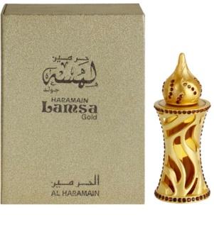 Al Haramain Lamsa Gold olio profumato unisex 12 ml