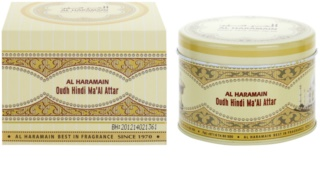 Al Haramain Oudh Hindi Ma'Al Attar encens 50 g