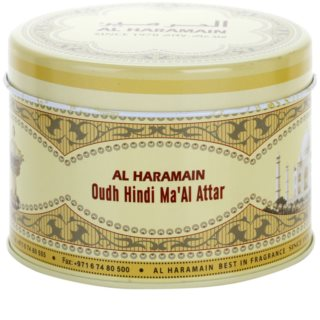 Al Haramain Oudh Hindi Ma'Al Attar incienso 50 g