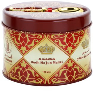 Al Haramain Oudh Ma'Jun Mailki incenso 100 g