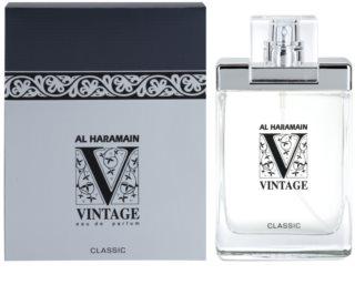 Al Haramain Vintage Classic Eau de Parfum para homens 100 ml