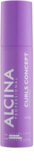 Alcina Strong formázó gél a természetesen göndör haj megerősítésére