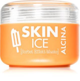 Alcina Skin Ice mascarilla sorbete para rostro con efecto frío