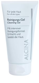 Alcina For All Skin Types Gel de curatare cu aloe vera și zinc