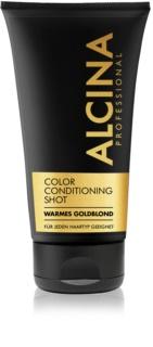Alcina Color Conditioning Shot Gold tönendes Balsam für eine leuchtendere Haarfarbe