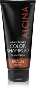 Alcina Color Brown champô para tons castanhos de cabelo