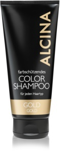 Alcina Color Gold Shampoo For Warm Blonde