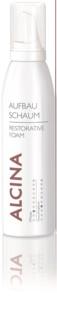 Alcina Dry and Damaged Hair regenerierender Schaum mit Sofort-Effekt