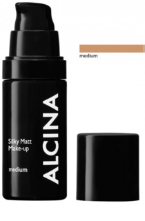 Alcina Decorative Silky Matt Foundation With Powder - Effect
